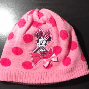 Girls Disney Collection Minnie Mouse Beanie Hat